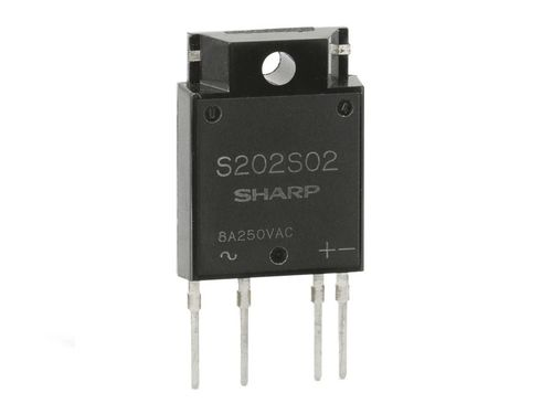 S202S02 Solid State Relay 8A/250VAC Elektronisches Lastrelais